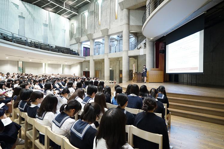女子聖学院高等学校画像